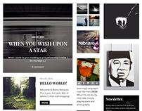 Versatile: Magazine Theme Focused on Content