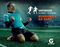 Gatorade Windows 8 - Ad Pano