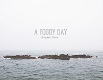 a foggy day in Qingdao, China