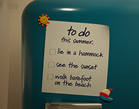 "OTE TV SUMMER TO-DO campaign ""Fridge"" (6/2014)"