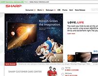 Sharp Website/M-Site