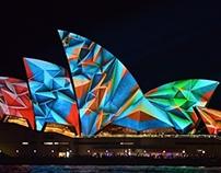 Lighting The Sails - Vivid LIVE 2014