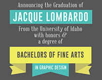 Graduation Announcements & Thank You