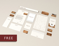 Free Mock Ups – Wood Edition