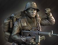 LRRP Soldier