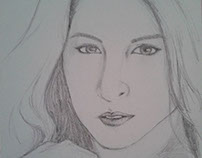 Marian Rivera Sketch by Angel Lea Madriñan