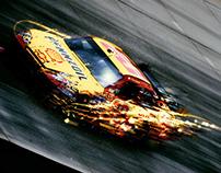 ESPN/NASCAR Print Campaign