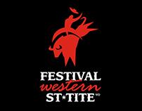 Festival Western St-Tite - Identité visuelle