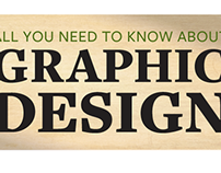 Graphic design infograph