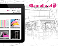 Glamelle- Web Store