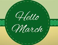 March Facebook cover photos