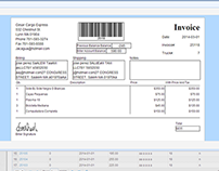 Shipping Invoice Management System