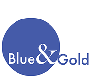 The Blue & Gold Logo