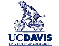 UC Davis Brand marks Illustrated by Steven Noble