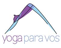 Logo Yoga para Vos