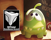 "Om Nom: Cut The Rope - ""3DTotal Excellence Award"""