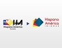 Rebrand e Identidade visual para Hispano América