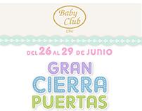 Baby Club Chic - Cierrapuertas VIP