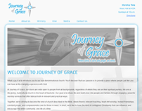 Journey of Grace logo and web design