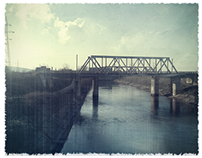 Train Bridge - Photo edit