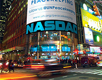 Videos on Times Square (NASDAQ & Reuters screens)