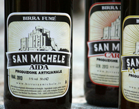 """Birrificio San Michele"" Beer Label"