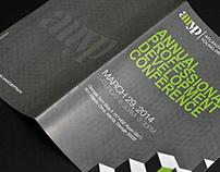 Professional Development Conference Booklet & Flyer