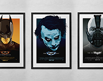 Dark Knight Poster Series