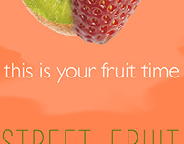 Street fruit adv