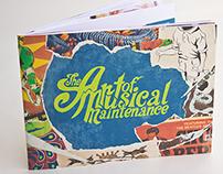 Art of Musical Maintenance Brand Redesign Book