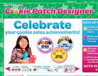 Girl Scouts Cookie Patch Designer