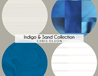 Indigo and Sand Collection, Surface Pattern