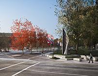 Fresno State Entrance Monument