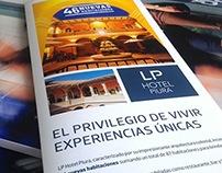Díptico Los Portales Hoteles - LP Hotel Piura