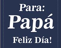 Feliz Día Padres!
