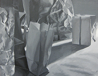 Avant Garde Paper Bag