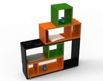 """reShelf"" - Modular Shelf System"