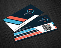 Unique Corporate Business Card Template (FREE)