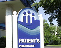 Partients Pharmacy Sign