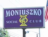 Moniuszko Club Sign