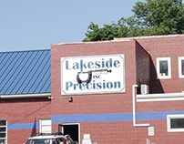 Lakeside Precision Sign