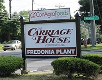 Conagra/Carriage House Sign