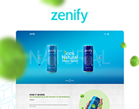 Zenify - Natural Energy Drink
