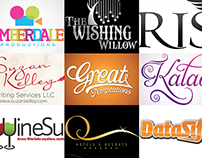 Typographic Logo Designs...