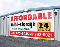 Affordable Storage Sign
