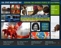 Cal State Monterey Bay - Web Redesign