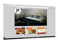 Hotel Santino Website