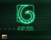 Glitch Logo Reveal