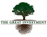 The Great Investment logo and brochure