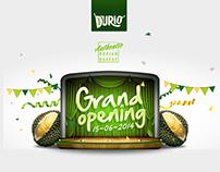 Durio - Rebranding